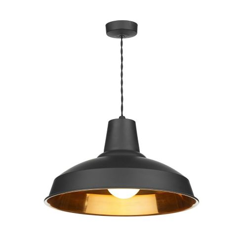 Reclamation Pendant Black/Copper Inner, REC0154 (7-10 day Delivery) (Double Insulated)